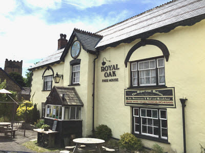 Contact The Royal Oak Dolton Devon