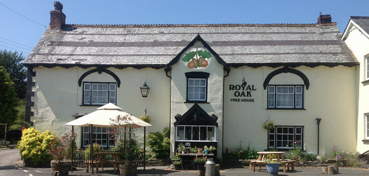 Royal Oak pub Dolton, pub, restaurant, bed & breakfast in Devon