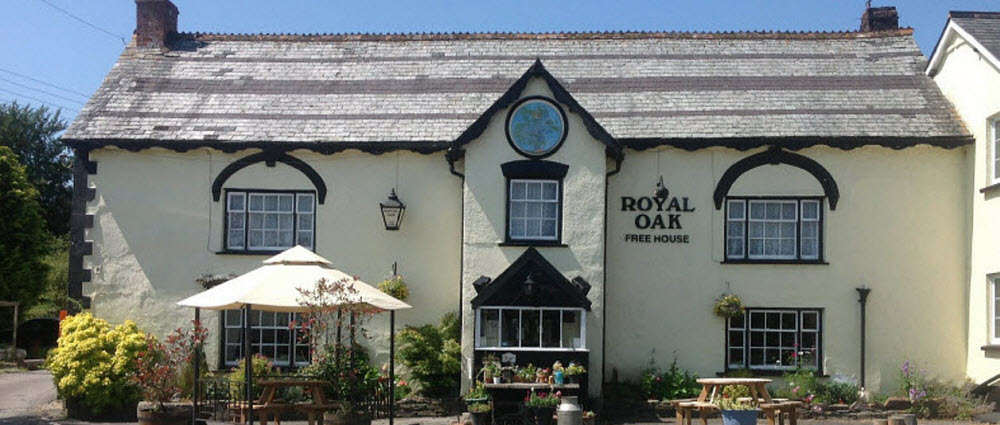 Royal Oak pub Dolton in Devon
