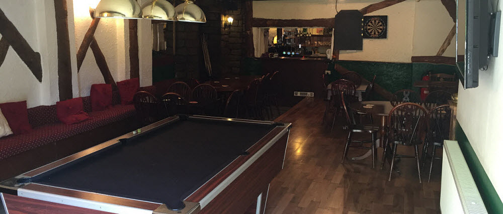 Games room at Royal Oak pub Dolton