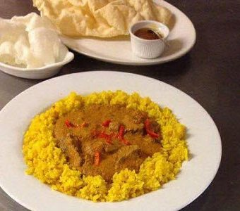 curry night at The Royal Oak in Dolton