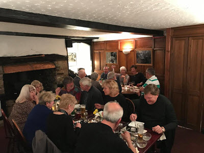 Party at the Royal Oak Dolton in North Devon