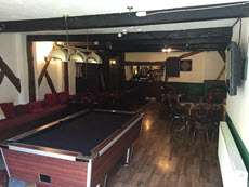 Function room Devon - The Royal Oak games room